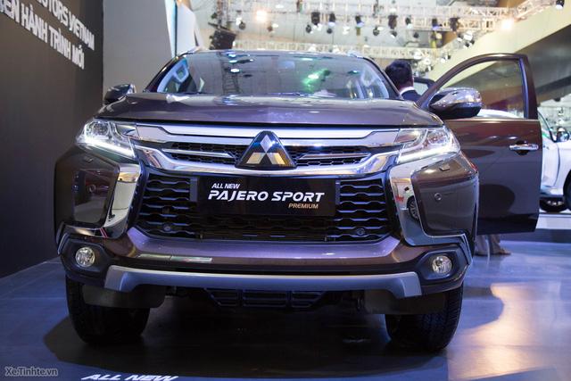 Mitsubishi Pajero Sport 2016 trong triển lãm VMS 2016. Ảnh: Tinhte