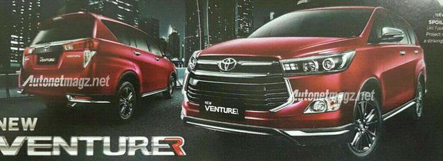 Toyota Innova 2016 có thêm bản trang bị cao cấp Venturer mới - Ảnh 1.