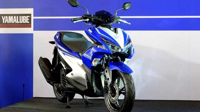 Yamaha NVX 155cc 2017 tiếp tục ra mắt tại Indonesia 2