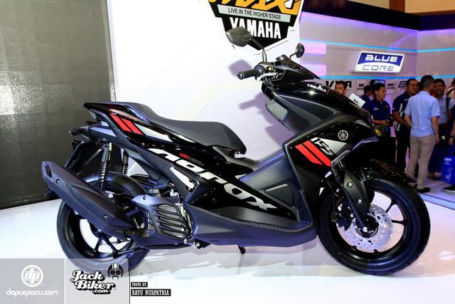 Yamaha NVX 155cc 2017 tiếp tục ra mắt tại Indonesia 4