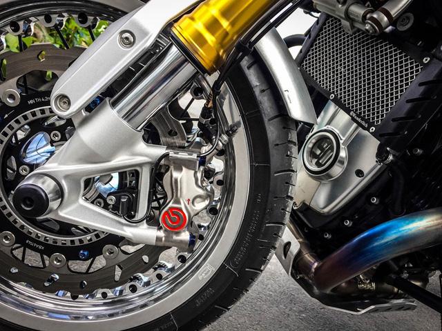 Cận cảnh BMW R NineT độ với chi phí đắt nhất Việt Nam