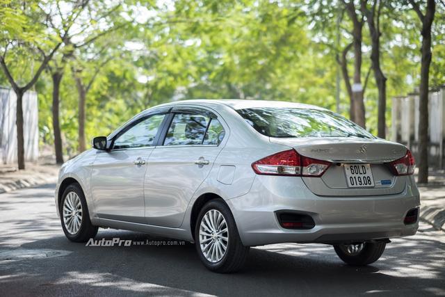 Đánh giá Suzuki Ciaz - Làn gió mới trong phân khúc sedan hạng B - Ảnh 2.