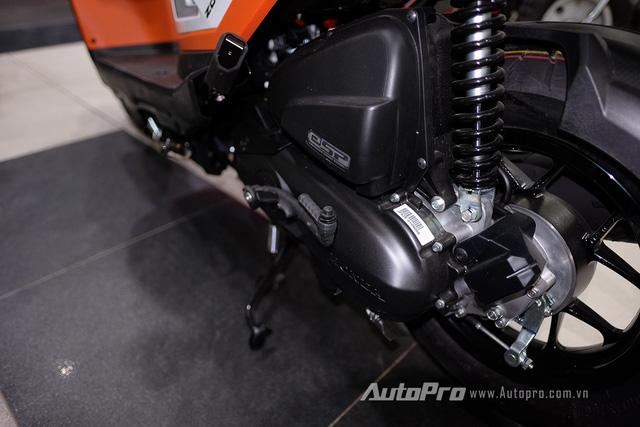 Xe vẫn được trang bị động cơ ESP của Honda với dung tích 110cc.
