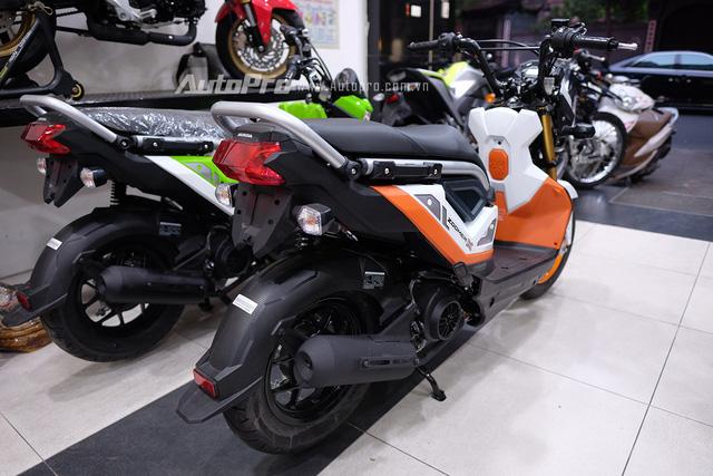 Theo công bố của nhà sản xuất thì Honda Zoomer-X 2017 chỉ tiêu thụ nhiên liệu ở mức 1,6l/100km.