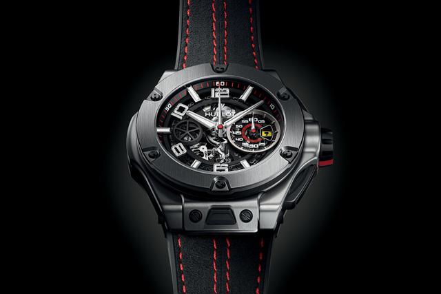 Chiếc đồng hồ Hublot BigBang Ferrari Unico Titanium có số lượng giới hạn 1.000 chiếc và mức giá 26.200 USD.