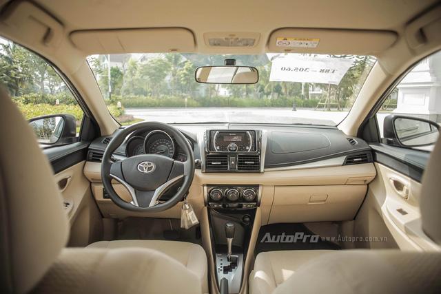 """Đánh giá Toyota Vios 2016: Giải mã hiện tượng người Việt """"cuồng"""" Vios - Ảnh 6."""