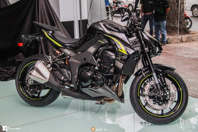 Kawasaki Z1000 2017 đầu tiên cập bến Việt Nam, giá từ 399 triệu Đồng - Ảnh 1.