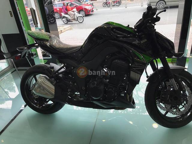 Kawasaki Z1000 2017 đầu tiên cập bến Việt Nam, giá từ 399 triệu Đồng - Ảnh 2.