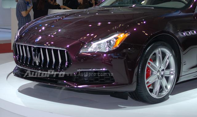 Tại thị trường Việt Nam, Maserati Quattroporte sẽ được phân phối chính hãng với 4 phiên bản bao gồm tiêu chuẩn 6,118 tỷ Đồng, bản S và S Q4 sẽ có mức giá từ 6,898 đến 7,138 tỷ Đồng. Cuối cùng là bản GTS mạnh mẽ và đắt nhất với mức giá 10,379 tỷ Đồng.