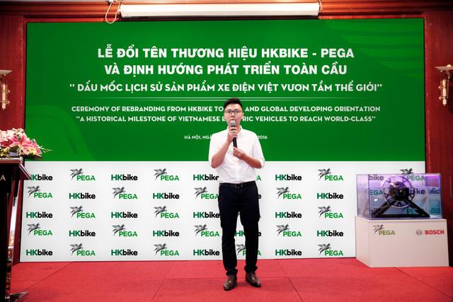 Thương hiệu xe điện HKBike đổi tên thành PEGA - Ảnh 2.