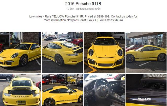 Hàng hiếm Porsche 911 R có giá khóc thét 23 tỷ Đồng - Ảnh 3.