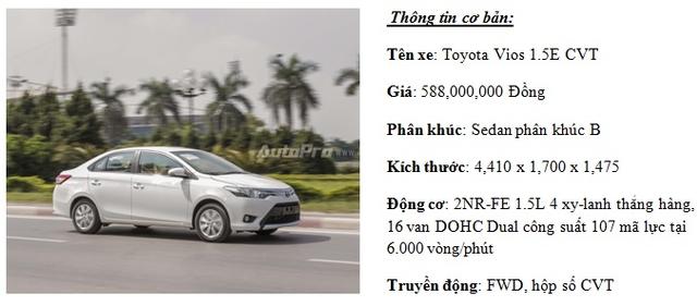 """Đánh giá Toyota Vios 2016: Giải mã hiện tượng người Việt """"cuồng"""" Vios - Ảnh 1."""