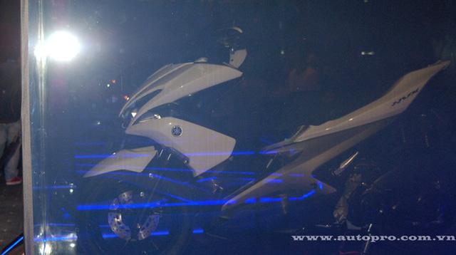 Yamaha NVX 150 được hé lộ tại sự kiện ra mắt TFX150 và Janus tại Việt Nam.