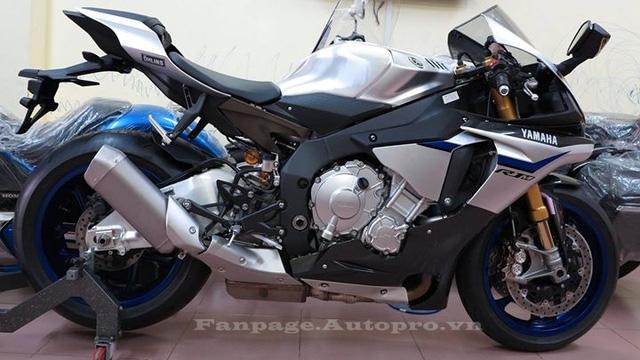 Siêu mô tô cực hiếm Yamaha R1M đời 2016 chốt giá 830 triệu Đồng có gì đặc biệt?