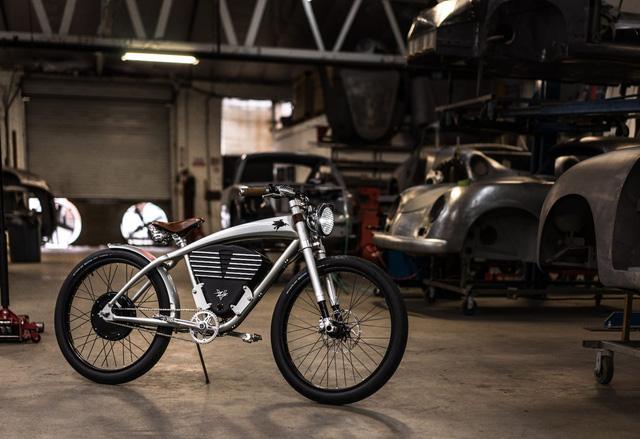 Xe đạp điện phong cách Porsche giới hạn 50 chiếc, giá 150 triệu đồng - Ảnh 1.