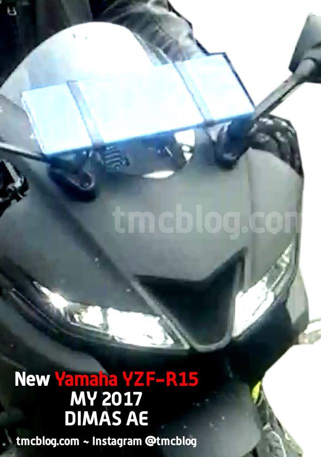 Yamaha R15 3.0 2017 tiếp tục lộ diện với những trang bị mới - Ảnh 2.
