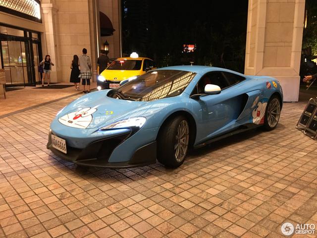 Bắt gặp siêu xe McLaren 675LT của fan cuồng Doreamon - Ảnh 1.