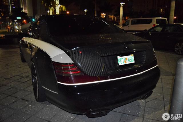 Maybach 57S bản độ Sir Maybach triệu đô tái xuất trên đường phố - Ảnh 5.
