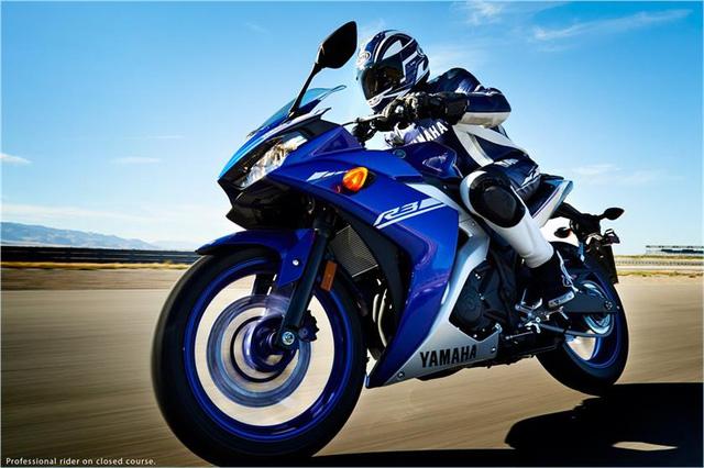 Mô tô thể thao Yamaha R3 2017 ra mắt với giá 4.999 USD - Ảnh 4.