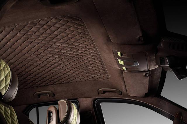 Mercedes-Benz GLE 2016 với nội thất bọc da cá sấu và mạ vàng của người Nga - Ảnh 12.