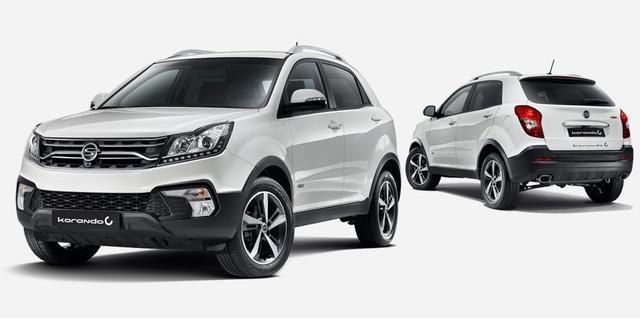 SUV cỡ nhỏ SsangYong Korando 2017 trình làng với giá khởi điểm 428 triệu Đồng - Ảnh 2.