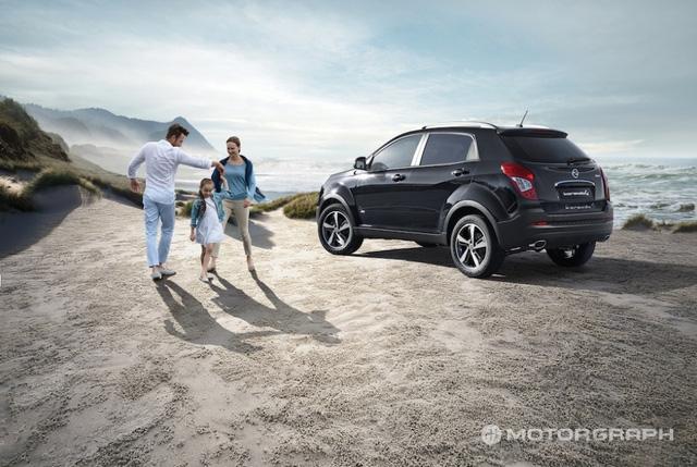 SUV cỡ nhỏ SsangYong Korando 2017 trình làng với giá khởi điểm 428 triệu Đồng - Ảnh 3.