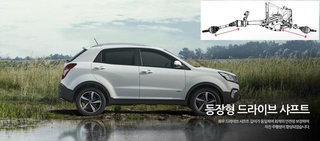 SUV cỡ nhỏ SsangYong Korando 2017 trình làng với giá khởi điểm 428 triệu Đồng - Ảnh 4.