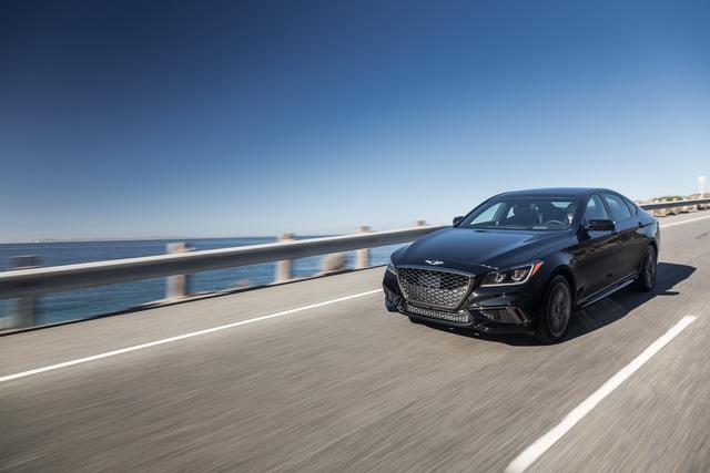 Cận cảnh sedan thể thao hạng sang Genesis G80 Sport 2018 - Ảnh 2.