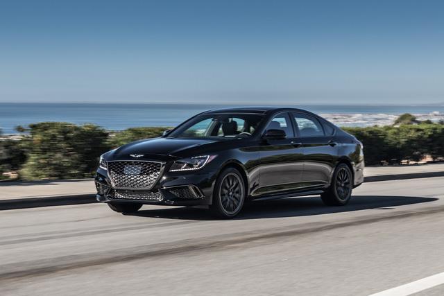 Cận cảnh sedan thể thao hạng sang Genesis G80 Sport 2018 - Ảnh 4.