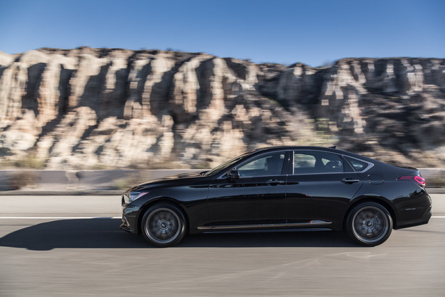 Cận cảnh sedan thể thao hạng sang Genesis G80 Sport 2018 - Ảnh 7.