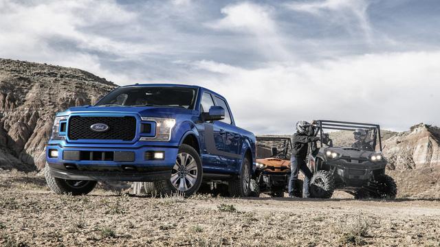Xe bán tải khủng long Ford F-150 2018 trình làng với thiết kế hầm hố hơn - Ảnh 6.