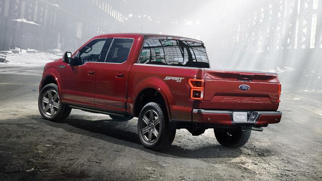 Xe bán tải khủng long Ford F-150 2018 trình làng với thiết kế hầm hố hơn - Ảnh 7.