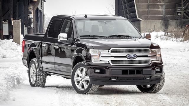 Xe bán tải khủng long Ford F-150 2018 trình làng với thiết kế hầm hố hơn - Ảnh 8.