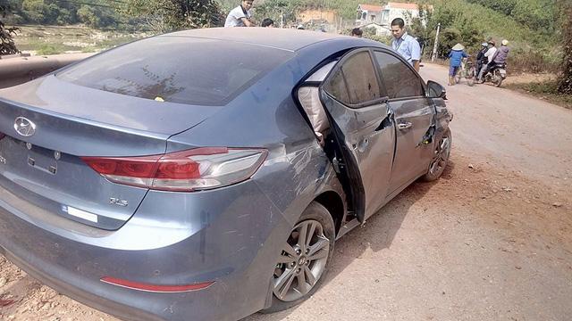 Bắc Giang: Hyundai Elantra đập hộp gặp nạn trên đường từ đại lý về nhà - Ảnh 3.