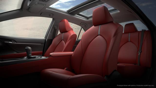 Toyota Camry 2018: Lột xác về thiết kế từ trong ra ngoài, thêm động cơ mới - Ảnh 19.