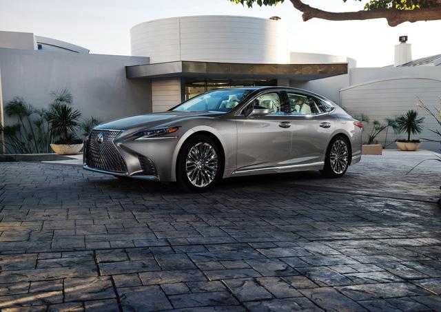 Lexus LS 2018 trình làng, Mercedes-Benz S-Class hãy coi chừng! - Ảnh 1.