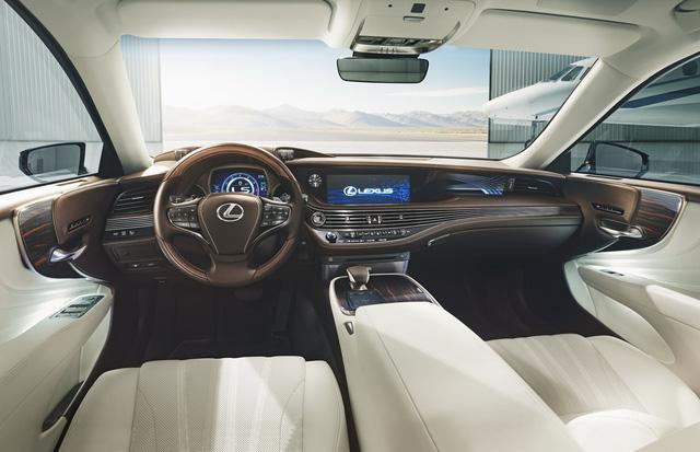 Lexus LS 2018 trình làng, Mercedes-Benz S-Class hãy coi chừng! - Ảnh 12.