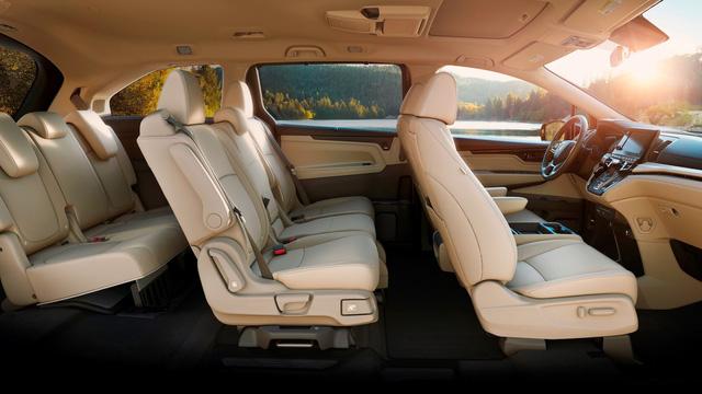 Honda Odyssey 2018 với thiết kế khác xe ở Việt Nam chính thức được vén màn - Ảnh 14.