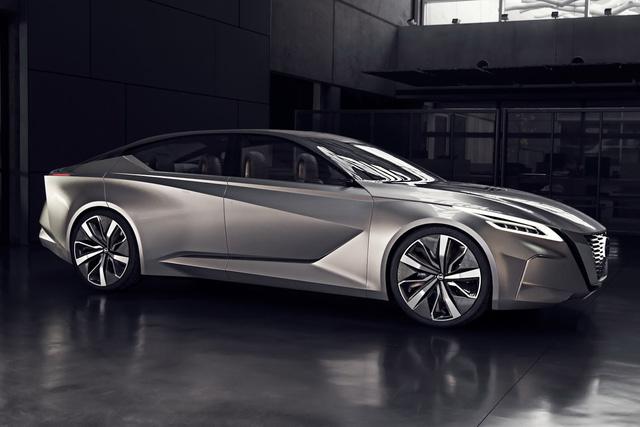 Nissan Vmotion 2.0 - Xe ý tưởng sở hữu thiết kế cực sexy - Ảnh 2.