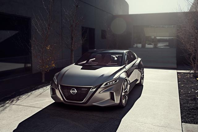 Nissan Vmotion 2.0 - Xe ý tưởng sở hữu thiết kế cực sexy - Ảnh 3.