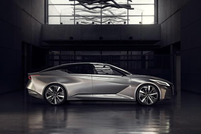 Nissan Vmotion 2.0 - Xe ý tưởng sở hữu thiết kế cực sexy - Ảnh 4.