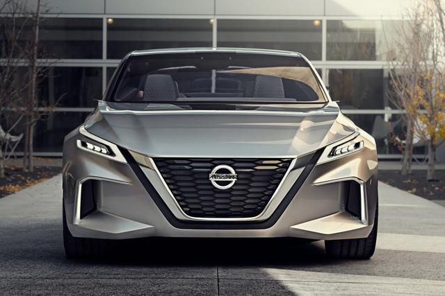 Nissan Vmotion 2.0 - Xe ý tưởng sở hữu thiết kế cực sexy - Ảnh 5.