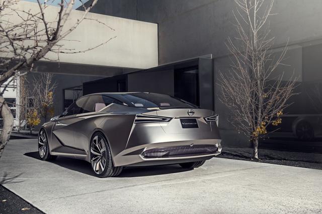 Nissan Vmotion 2.0 - Xe ý tưởng sở hữu thiết kế cực sexy - Ảnh 7.