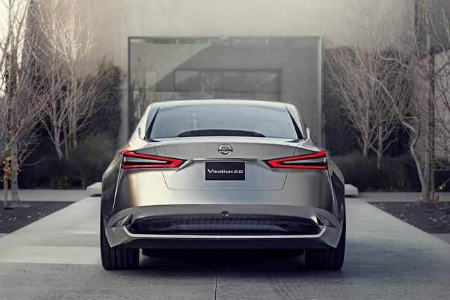 Nissan Vmotion 2.0 - Xe ý tưởng sở hữu thiết kế cực sexy - Ảnh 8.