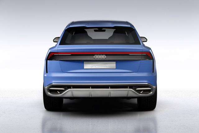 Vén màn SUV hạng sang công nghệ cao Audi Q8 - Ảnh 9.