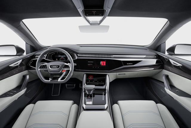 Vén màn SUV hạng sang công nghệ cao Audi Q8 - Ảnh 10.