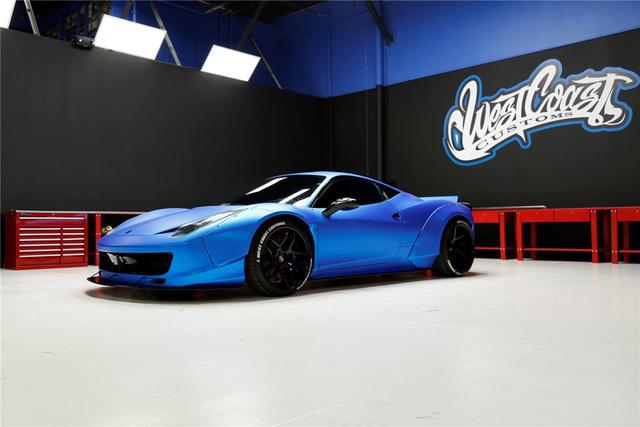 Justin Bieber rao bán siêu xe Ferrari 458 Italia độ Liberty Walk - Ảnh 1.