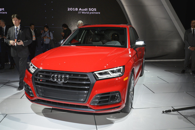 Mục sở thị thiết kế của SUV hạng sang Audi SQ5 2018 - Ảnh 1.