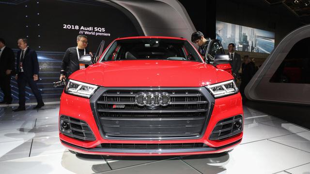 Mục sở thị thiết kế của SUV hạng sang Audi SQ5 2018 - Ảnh 2.