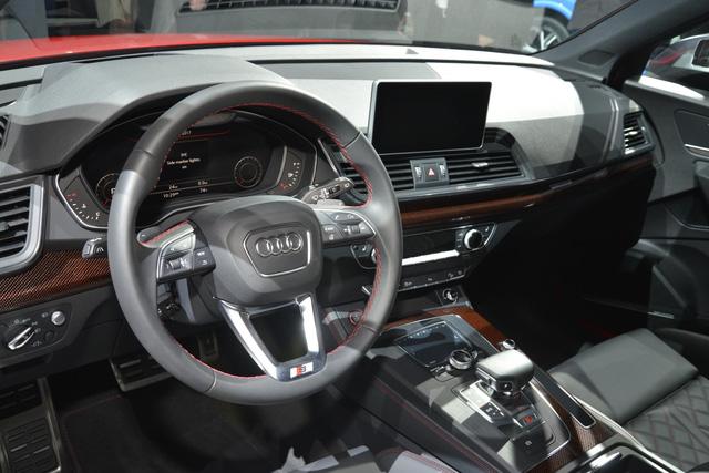 Mục sở thị thiết kế của SUV hạng sang Audi SQ5 2018 - Ảnh 6.